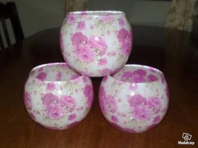 Mangkuk Decor glass bowl