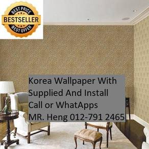 Classic Wall paper with installation f5g450525