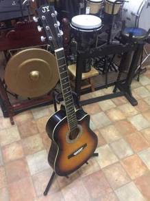 JY Semi Acoustic Guitar (Sunburst)