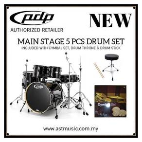 PDP By DW Mainstage Drumset With Cymbals- Black