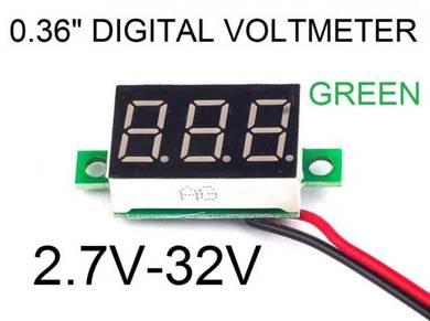 Digital LCD DC 2.7V~32V Voltmter tester 0.36