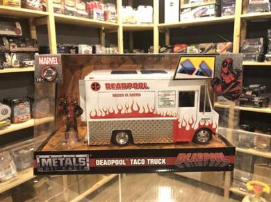Jada 1:24 Deadpool Taco Truck with Deadpool