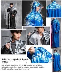 Raincoat Long Jubah II