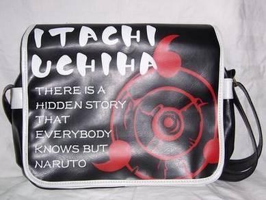 Naruto shippuden Uchiha akatsuki Sling bag