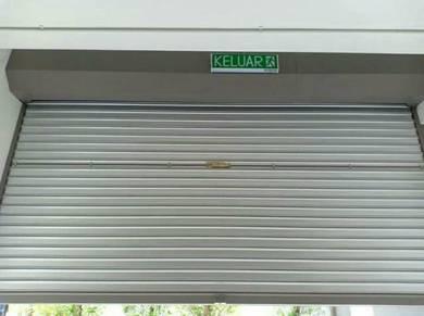 Roller shutter install
