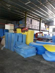 Polyurethane open cell slab stock foam pack pu