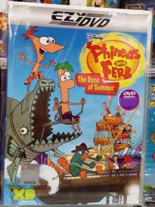 DVD Disney : Phineas and Ferb - The Daze of Summer