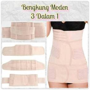 3in1 bengkung slimming band / corset 3 pcs 09