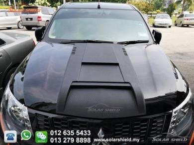 Mitsubishi Triton Front Bonnet Scoop Carbon 4X4