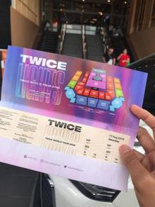 TWICE LIGHTS TICKET WORLD TOUR- VIP Seat