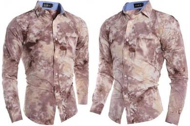 J7654 Floral Special 3D Abstract Long Sleeve Shirt