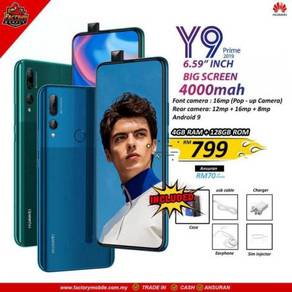 Huawei y9 prime [ 4 128gb ] New gift 4000 battery