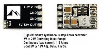 Matek Micro BEC 1.5A 5V/12V Adjustable XJ082