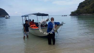 Candat sotong, fishing trip, trip to tenggo island
