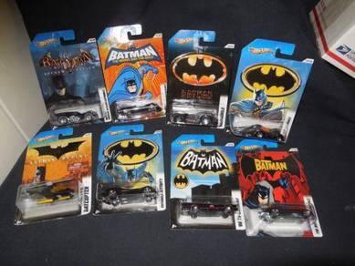 WTB hot wheels batman 2012 set