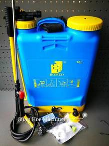 Romeo Battery & Manual Sprayer 16 Liter