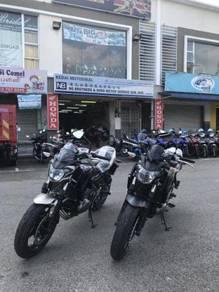Kawasaki z650 z 650 ABS Free Exhaust Offer Offer