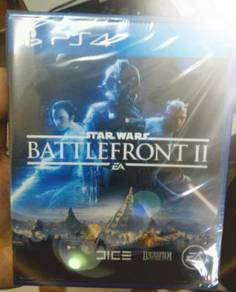 PS4 Game Star Wars Battlefront 2 II NEW AND SEALED