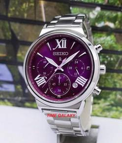 SEIKO LUKIA SRWZ73P1 Ladies Chrono Bracelet Watch