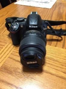 Camera Nikon model D3100 Complete Set