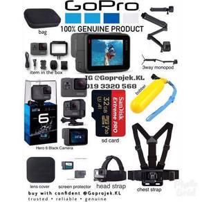 GOPRO HERO 6 BLACK- Installment 12month