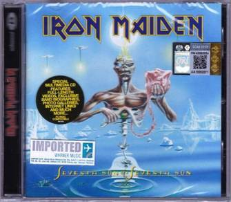 IMPORTED CD IRON MAIDEN Seventh Son of A Seventh