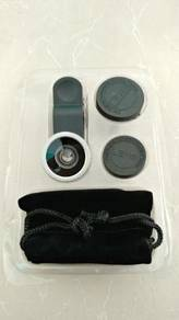 Clip on lenses for phone