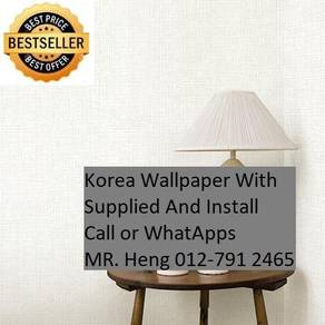 3D Korea Wall Paper with Installation rnr6th6