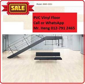 Natural Wood PVC Vinyl Floor - With Install fxa34