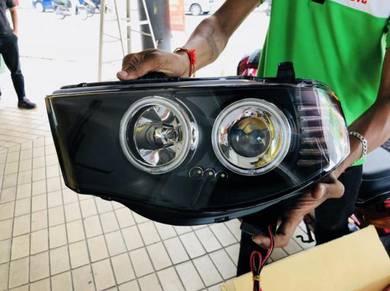 Triton L200 headlamp headlight head lamp light led