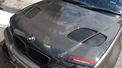 BMW E46 Carbon Fiber Bonnet Vorsteiner Bodykit