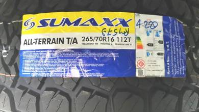 Tayar 4X4 Sumaxx AT 265 70 16 Tyre New Year 2020