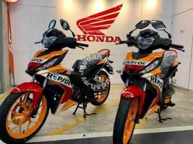 Honda rs150 !! best offer ic & payslip sahaja !!