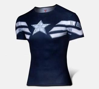 Super Hero Slim Fit Shirt - Captain America 4