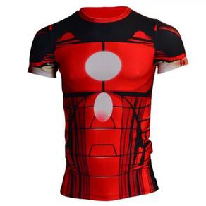 Super Hero Slim Fit Compression Shirt - Ironman 1