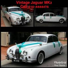Vintage Jaguar MK 2 For Wedding Car Rental