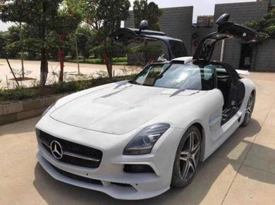 Mercedes Benz SLS AMG Black Series Bodykit