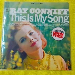 EEQ lp Ray Conniff piring hitam vinyl