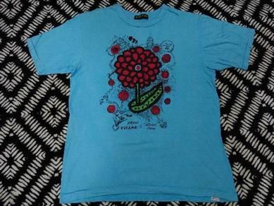 Vintage 24 hour tv t shirt japan brand size LL