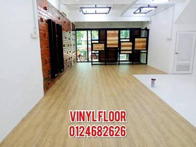 Rumah, pejabat homestay lantai vinyl