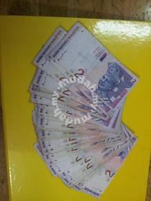 Wang Kertas Lama RM2 Ahmad Don