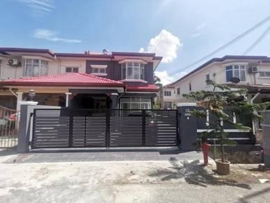 [ Refurbished ] Double Storey End Lot Bandar Seri Putra Bangi