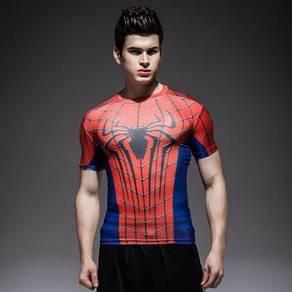 Super Hero Slim Fit Compression Shirt - Spiderman9