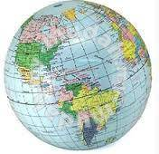 Educational Inflatable World Globe or Map Ball