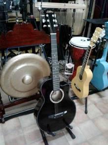 Calao Black Acoustic Guitar
