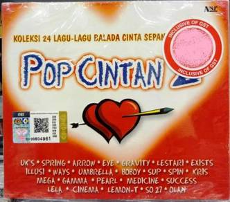 CD POP CINTAN 2 Ukay Spring Arrow Eye Gravity Spin