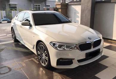 Latest BMW 5 Series For Wedding Car Rental