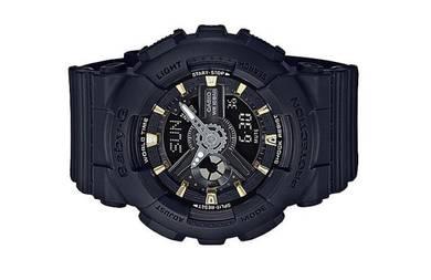 Casio Baby-G Black Color Sport Watch BA-110GA-1AD