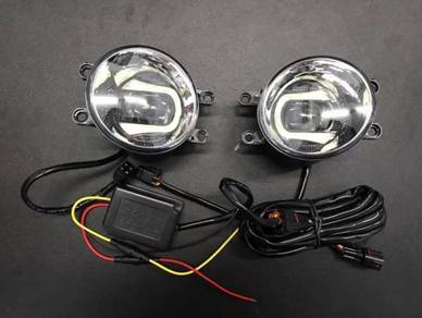 Honda Civic City CRV Jazz BRV fog lamp DRL LED