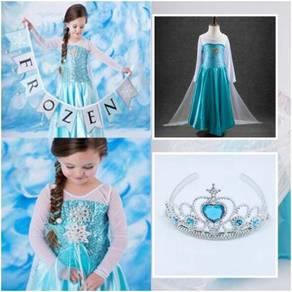 Style Charming FROZEN Elsa Princess Dress